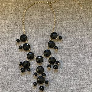 5 for $25: Black Adjustable Length Bubble Necklace